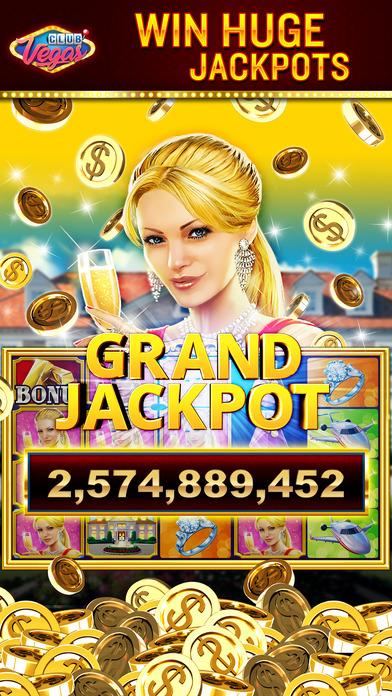Screenshot 2 Club Vegas — Real Vegas Slots