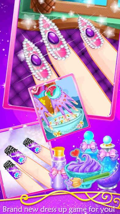 Beauty Nail Salon - Decoration games screenshot 1