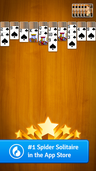 Spider Solitaire by MobilityWare iPhone Screenshot 5