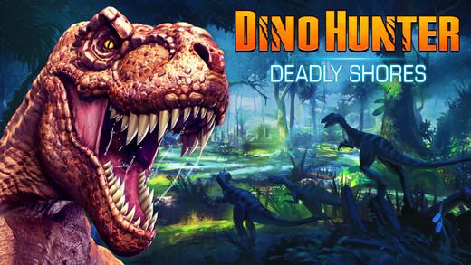 Dino Hunter: Deadly Shores Screenshot