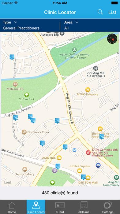 MHC Clinic Network iPhone Screenshot 4
