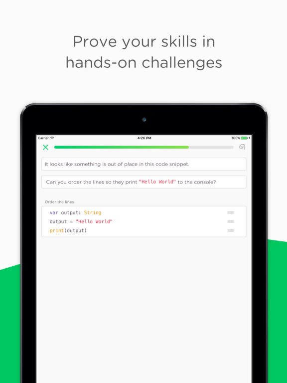 Mimo: Learn to code on the go Screenshots