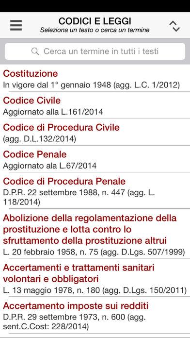 Civile iPhone Screenshot 1