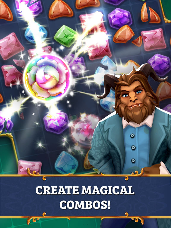 Screenshots of Beauty and the Beast: Perfect Match for iPad
