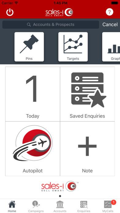 sales-i Mobile iPhone Screenshot 1