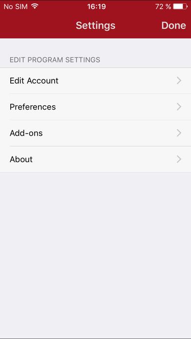 Peoplefone iPhone Screenshot 1
