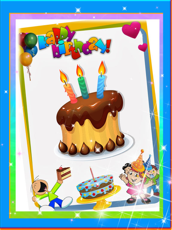 Happy Birthday Greeting Card Maker Photo Frame on the App Store – Ipad Birthday Card