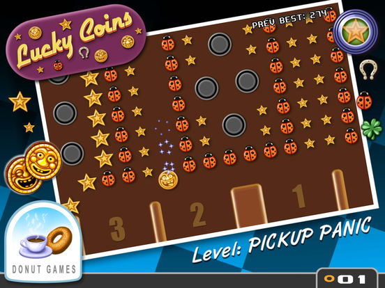 Lucky Coins на iPad