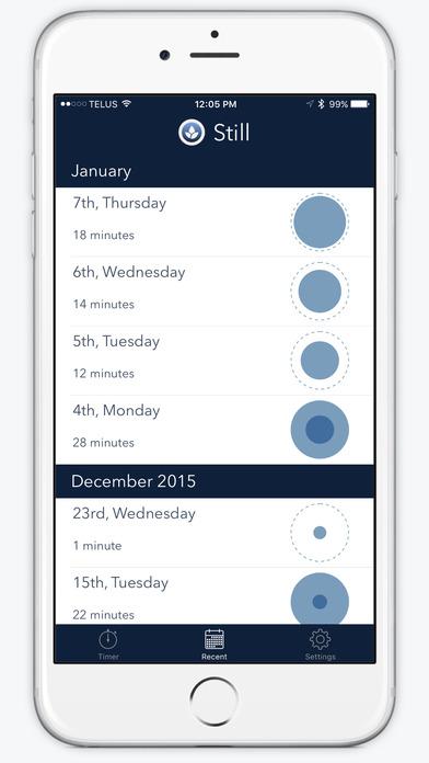 Still - Meditation Timer & Tracker Screenshot