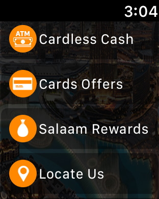 Mashreq UAE iPhone Screenshot 7