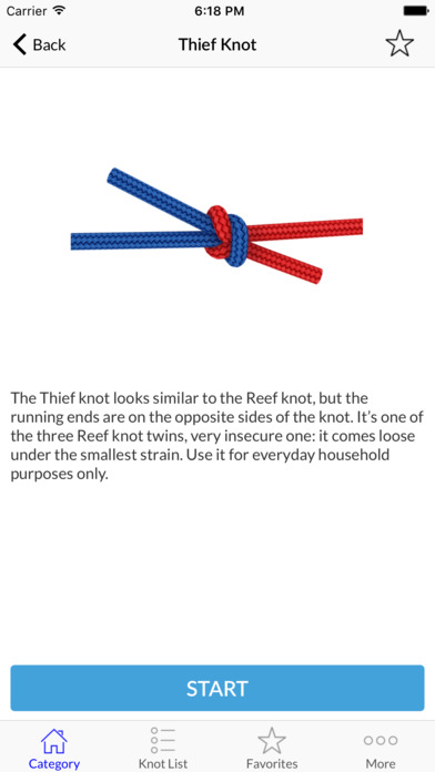Animated 3D Knots - How to Tie Knots Screenshots