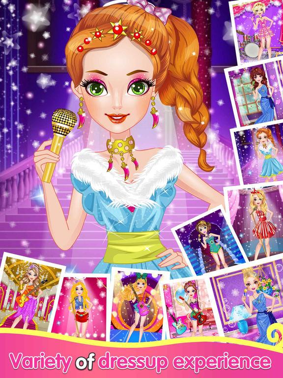 Звезд Девушка - одеваются игры Скриншоты6