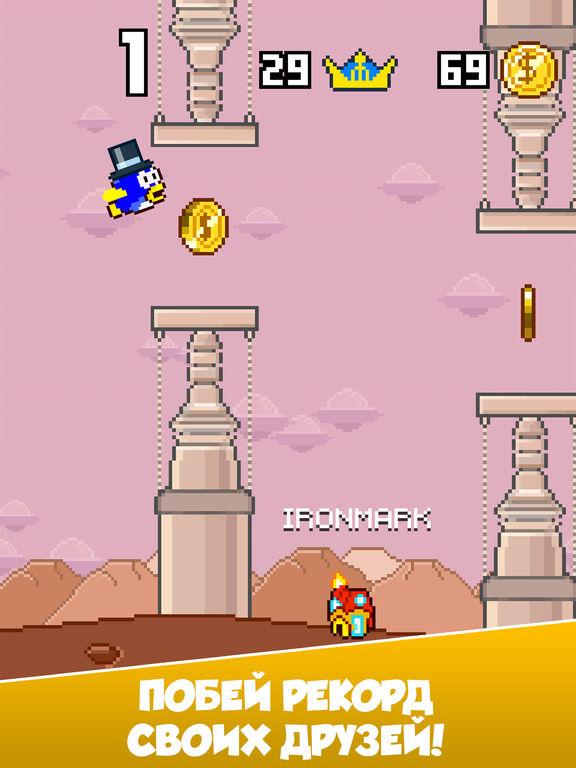 Splashy Fish - Adventure of Flappy Tiny Bird Fish Скриншоты11
