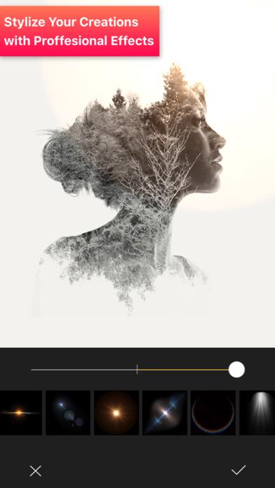 #4. Pic Blender Double Exposure Art Photo Blend Editor (iOS)