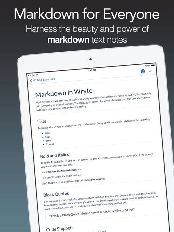 Wright - Markdown for the Masses Screenshots