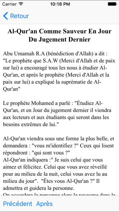 Muslim Book Pack - French Indonesia iPhone Screenshot 4