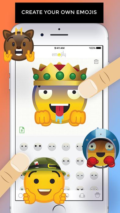 Emojily - Create Your Own Emoji screenshot 1