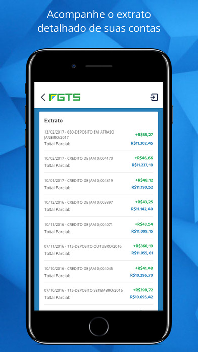 FGTS 2017 Apps free for iPhone/iPad screenshot