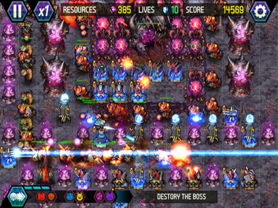 Игра Tower Defense: Infinite War