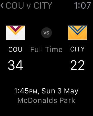 NRL Rugby League Live 2011 iPhone Screenshot 7