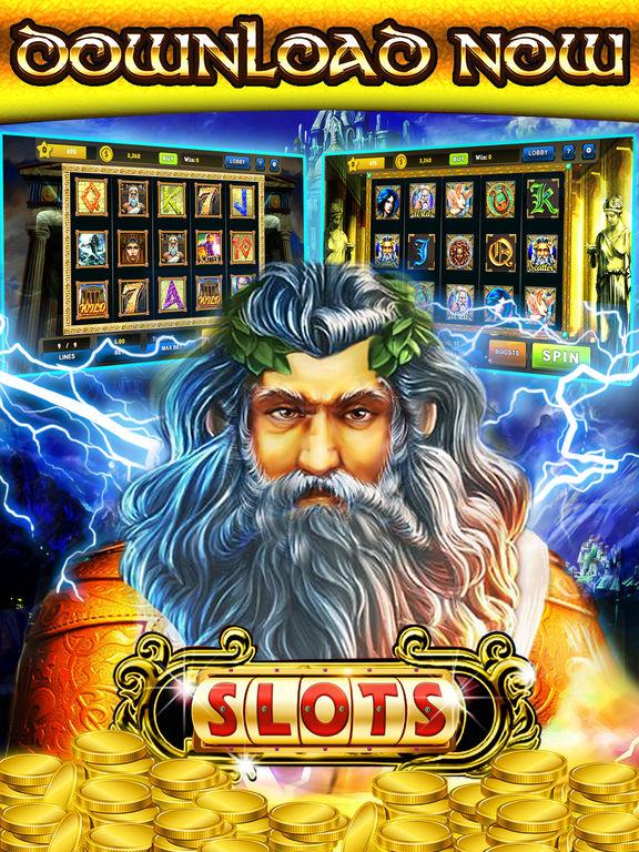 Screenshots of 777 Zeus Casino Slots– Let It Rain Money Game Free for iPad