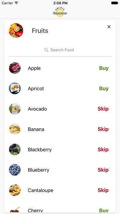Soleil Organics iPhone Screenshot 2