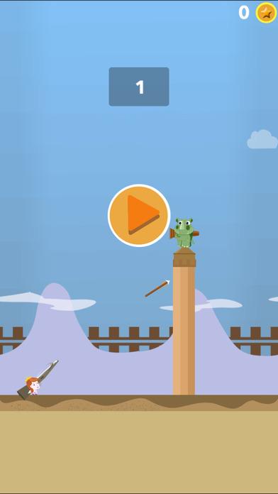 Cannon Shooting Angel Madness Pro screenshot 1