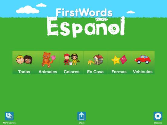 FirstWords: Spanish iPad Screenshot 5