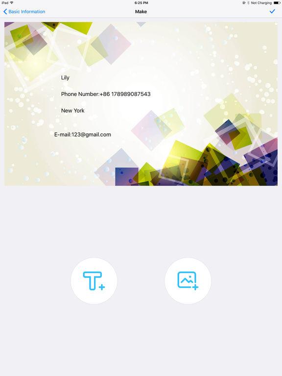 App Shopper: BizCard Make.r Pro - Create u0026 design business ...