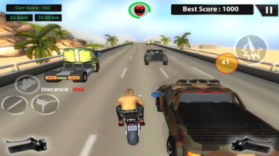 US ARMY MOTO RACER PRO screenshot 3