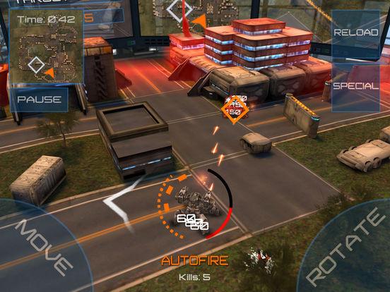Reflex Unit Screenshots