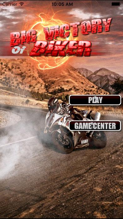 A Big Victory Of Biker Pro : Game Win screenshot 1