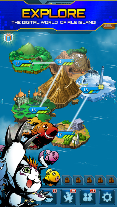 Digimon Heroes! screenshot 3