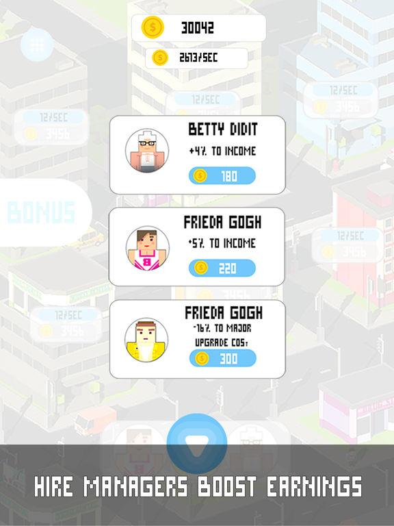 Tap Tap City Clicker Full Screenshots