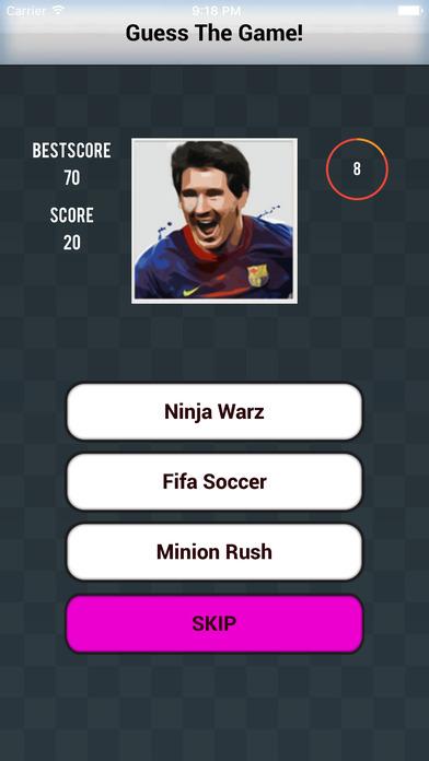 Guess the Games Icons - Logos - Photos Quiz screenshot 3