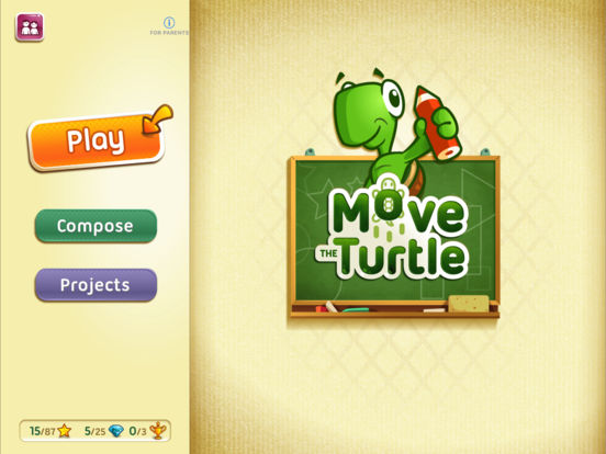 Move The Turtle. Programming For Kids Screenshots