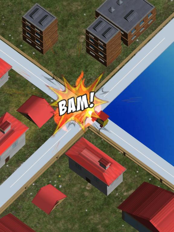 Mini Train Street Rush screenshot 4