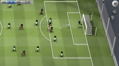 Screenshots of Stickman Soccer for iPhone