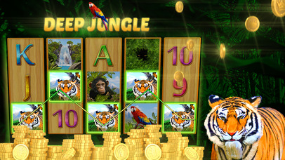Screenshot 3 Deep Jungle Автоматы