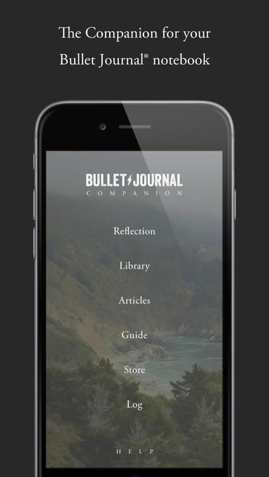 Bullet Journal Companion Screenshot