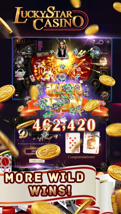 Screenshot 4 Lucky Star Casino–Vegas Slot Machines &Poker Games