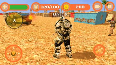 Superhero WAR: Army Counter Terrorist Attack screenshot 3