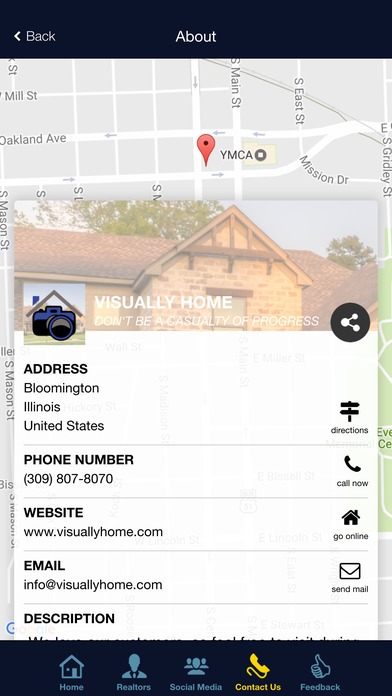 Screenshot for Visually Home in United States App Store