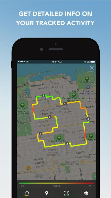Runtastic Running, Jogging and Walking Tracker screenshot