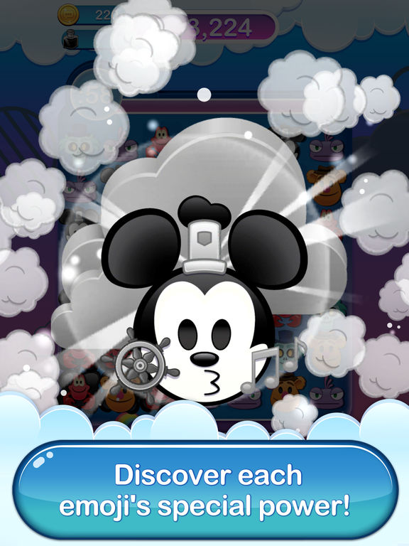 Screenshot #1 for Disney Emoji Blitz - Classics