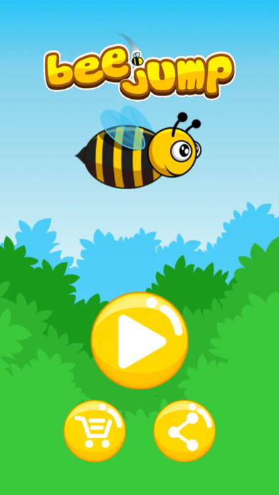 Bee Jump screenshot 1