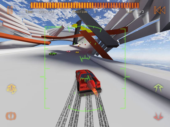 Screenshots of Jet Car Stunts 2 for iPad