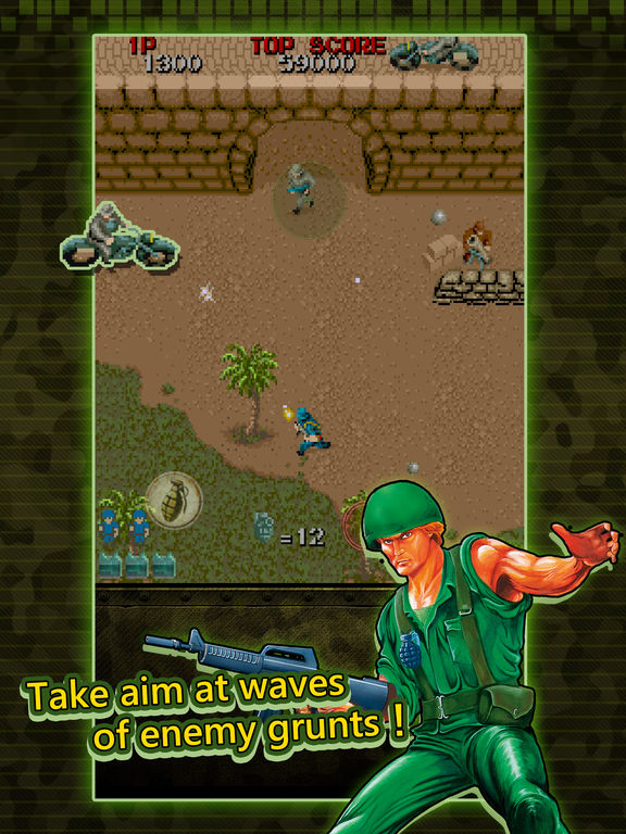 Wolf of the Battlefield : Commando MOBILE Screenshots