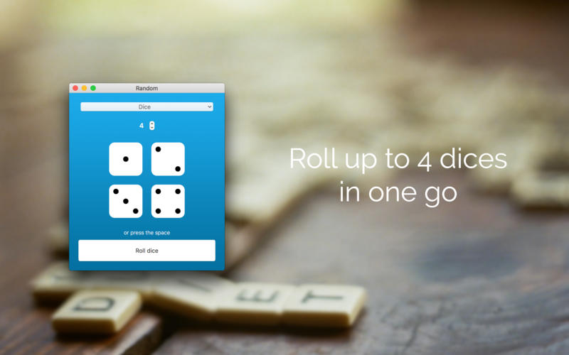 Random: Number Generator & Lottery Picker. RNG! for Mac