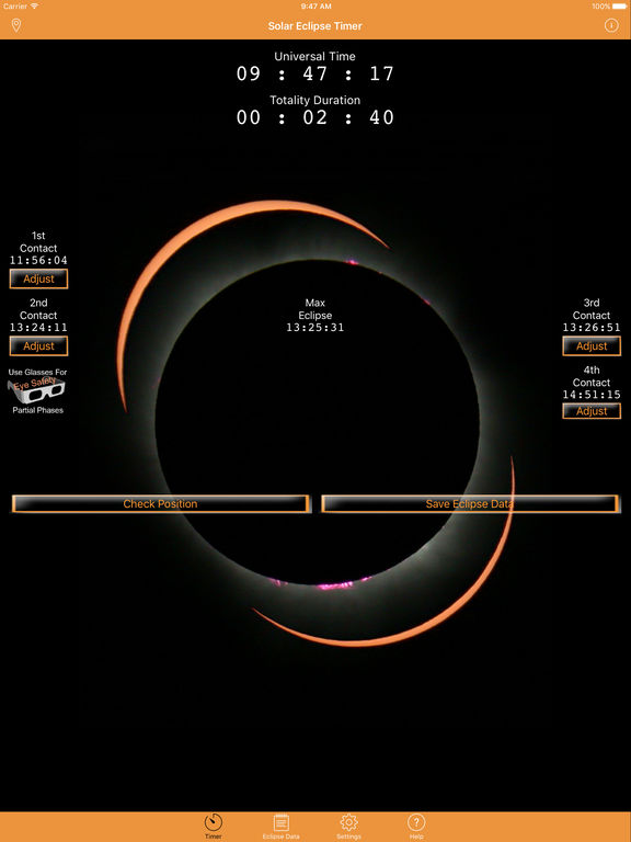 Solar Eclipse Timer screenshot 6
